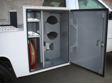 Douglass Truck Bodies - Welding Compartments
