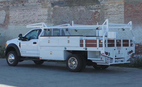 Douglass Truck Bodies Contractor Bed