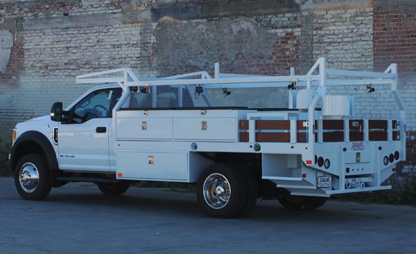 Douglass Truck Bodies Custom Flatbed