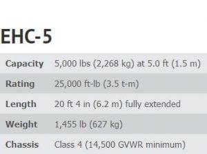 EHC-5 SPECS