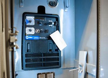 Welding Control Access